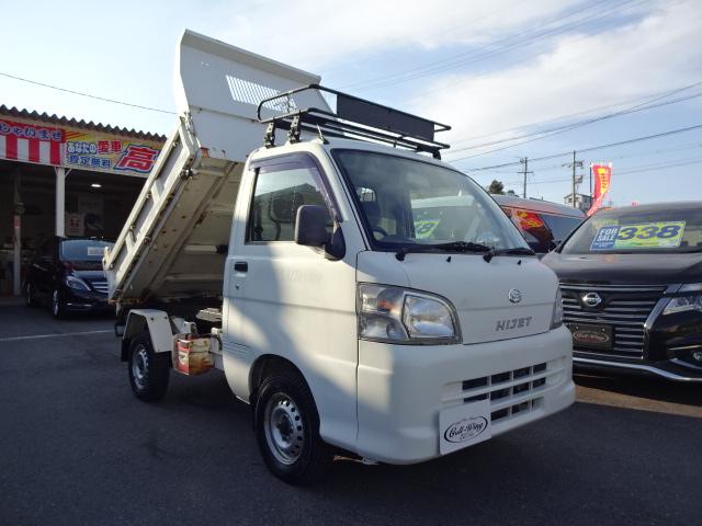 ◎ハイゼットT 4WD PTO多目的ダンプ エアコン パワステ!