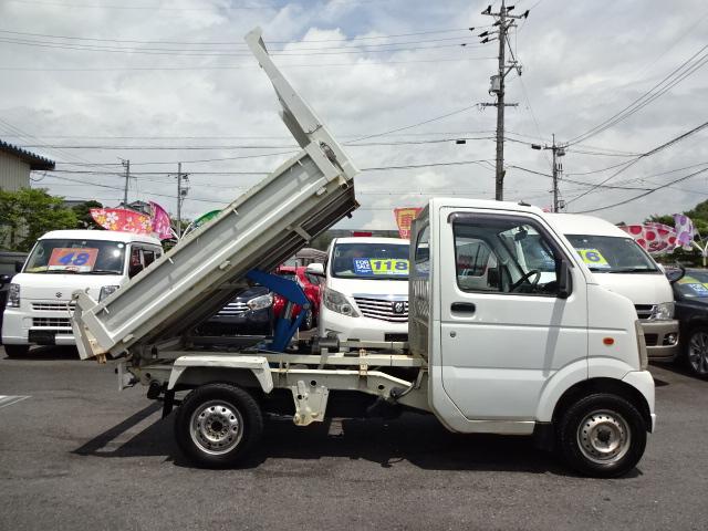 ◎平成21年06月 キャリーT 深底ダンプ 4WD AC PS!